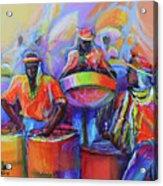 Steel Pan Carnival Acrylic Print