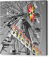 Steel Pier Acrylic Print