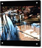 Steel River Acrylic Print