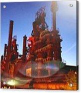 Steel Stacks Acrylic Print