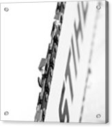 Steel Stihl Bar Acrylic Print