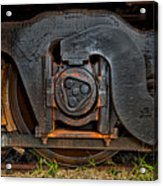 Steel Wheel Of Progess Acrylic Print