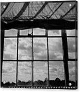 Steel Window Acrylic Print