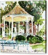 Steele Memorial Bandstand Acrylic Print