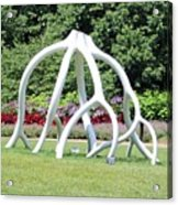 Steelroots Sculpture Acrylic Print