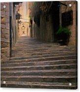 Steep Steps Of Girona Acrylic Print