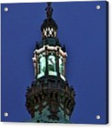 Steeple Lights Acrylic Print