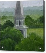 Steeple  Acrylic Print by Toni Berry