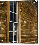 Steeple Window Wall Acrylic Print