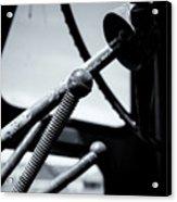 Steering Column Of Direction Acrylic Print