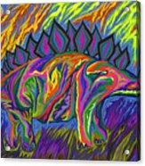 Stegasaurus Colorado Acrylic Print