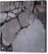 Step On A Crack 3 Acrylic Print by Anna Villarreal Garbis