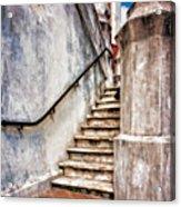 Step On Up Acrylic Print