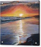 Stephanie's Sunset Acrylic Print