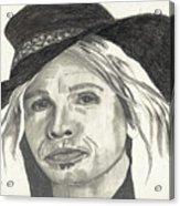 Stephen In Half Mode Acrylic Print