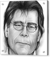 Stephen King Acrylic Print