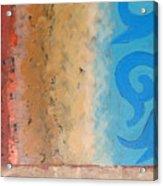 Steppe Oasis Acrylic Print