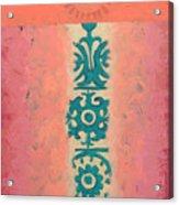 Steppe Sun Acrylic Print