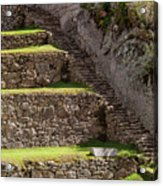 Steps And Terraces Acrylic Print