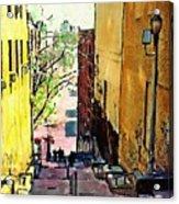 Steps At 187 Street Acrylic Print