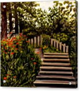 Steps Of Monte Rio Acrylic Print