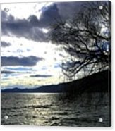 Sterling Silver Sunset Acrylic Print