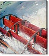 Sternwheeler Splash Acrylic Print