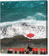 ...stessa Spiaggia... Stesso Mare...  ...the Same Beach... The Same Sea... Acrylic Print