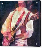 Steve Miller 1978 Acrylic Print by Russ Harris