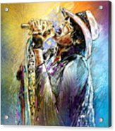 Steven Tyler 01  Aerosmith Acrylic Print
