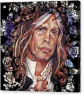 Steven Tyler Aerosmith Acrylic Print
