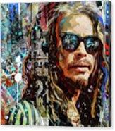 Steven Tyler Tribute Acrylic Print