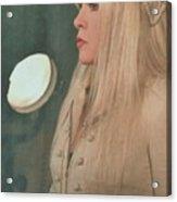 Stevie Nicks In Profile Acrylic Print