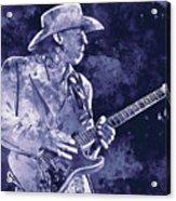 Stevie Ray Vaughan - 02 Acrylic Print