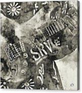 Stevie Ray Vaughan - 03 Acrylic Print