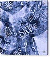 Stevie Ray Vaughan - 04 Acrylic Print