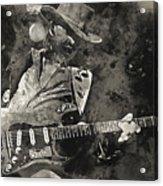 Stevie Ray Vaughan - 13  Acrylic Print