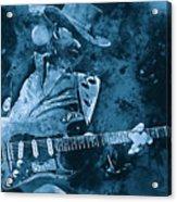 Stevie Ray Vaughan - 14 Acrylic Print