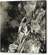 Stevie Ray Vaughan - 15 Acrylic Print