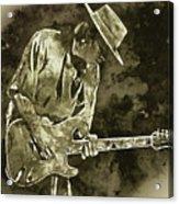 Stevie Ray Vaughan - 19 Acrylic Print