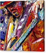 Stevie Ray Vaughan Number One Acrylic Print