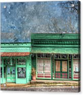 Stewards General Store And Post Office Acrylic Print