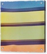 Sticky Stripes Acrylic Print