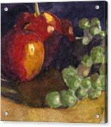 Still Apples Acrylic Print
