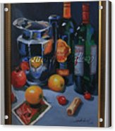 still life 2, Wine your style Acrylic Print