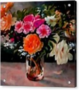Still-life For Anne Catus 1 No.1 H B Acrylic Print