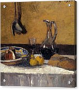 Still Life Nature Morte Acrylic Print