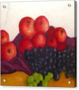 Still Life Of Fruit Acrylic Print