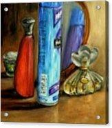 Still Life Oil Painting Acrylic Print