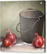 Still Life Onions Acrylic Print